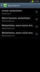 Samsung I9300 Galaxy S3 - Anrufe - Rufumleitungen setzen und löschen - Schritt 8