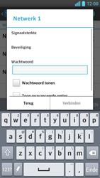 LG P760 Optimus L9 - wifi - handmatig instellen - stap 7