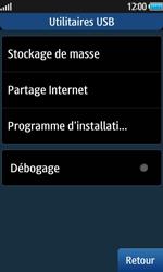Samsung Wave 2 - Internet et connexion - Utiliser le mode modem par USB - Étape 6