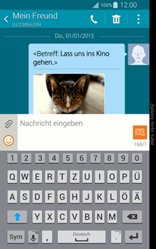Samsung N915FY Galaxy Note Edge - MMS - Erstellen und senden - Schritt 26