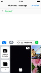 Apple iPhone 5s - iOS 11 - Contact, Appels, SMS/MMS - Envoyer un MMS - Étape 10