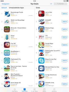 Apple iPad Air iOS 8 - Apps - Installieren von Apps - Schritt 8