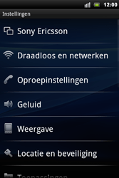 Sony Ericsson Xperia Mini Pro - Bluetooth - headset, carkit verbinding - Stap 4