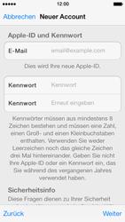 Apple iPhone 5 - Apps - Konto anlegen und einrichten - 23 / 36
