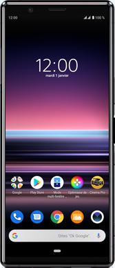Sony Xperia 5 - Téléphone mobile - Comment effectuer une réinitialisation logicielle - Étape 2