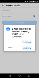 Huawei Y5 (2018) - E-mail - e-mail instellen: POP3 - Stap 6