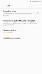 Samsung Galaxy S7 - Android Nougat - SMS - Manuelle Konfiguration - Schritt 8