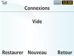 Samsung S3350 Chat 335 - Internet - Configuration manuelle - Étape 7