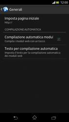 Sony Xperia V - Internet e roaming dati - Configurazione manuale - Fase 25