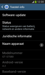 Samsung S7580 Galaxy Trend Plus - Software update - update installeren zonder PC - Stap 6