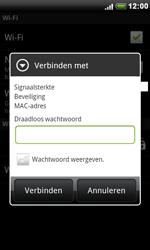 HTC S510e Desire S - wifi - handmatig instellen - stap 7