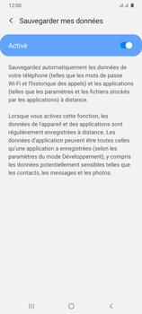 Samsung Galaxy A31 - Aller plus loin - Gérer vos données depuis le portable - Étape 11