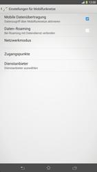 Sony Xperia Z Ultra LTE - Ausland - Auslandskosten vermeiden - Schritt 9