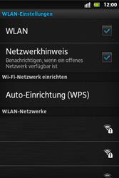 Sony Xperia Go - WLAN - Manuelle Konfiguration - Schritt 7