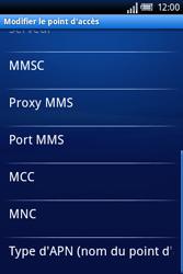 Sony Xperia X8 - MMS - Configuration manuelle - Étape 10