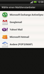 HTC T320e One V - E-Mail - Konto einrichten - Schritt 5