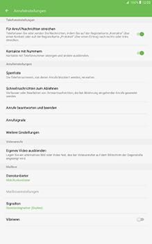 Samsung Galaxy Tab A 10-1 - Anrufe - Anrufe blockieren - Schritt 6