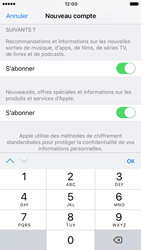 Apple iPhone 7 - Applications - Créer un compte - Étape 16