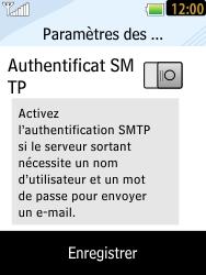 LG T385 - E-mails - Ajouter ou modifier un compte e-mail - Étape 10