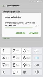 Samsung Galaxy S6 (G920F) - Android Nougat - Anrufe - Rufumleitungen setzen und löschen - Schritt 11