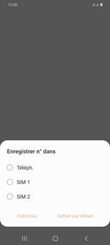 Samsung Galaxy S20+ - Contact, Appels, SMS/MMS - Ajouter un contact - Étape 5