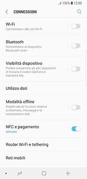 Samsung Galaxy S8 - Android Oreo - Internet e roaming dati - Disattivazione del roaming dati - Fase 5