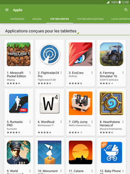 Samsung Galaxy Tab A - Applications - Télécharger une application - Étape 7