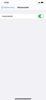 Apple iPhone 11 Pro Max - iOS 14 - Netzwerk - Manuelle Netzwerkwahl - Schritt 5