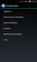 Huawei Y3 - Internet - Apn-Einstellungen - 25 / 39