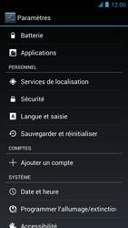 Alcatel One Touch Idol - Téléphone mobile - réinitialisation de la configuration d