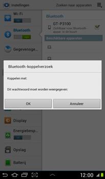 Samsung P3100 Galaxy Tab 2 7-0 - Bluetooth - koppelen met ander apparaat - Stap 10