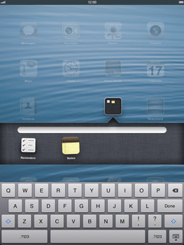 Apple iPad Retina - Getting started - Personalising your Start screen - Step 5