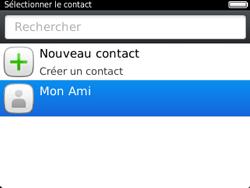 BlackBerry 9320 - Contact, Appels, SMS/MMS - Envoyer un SMS - Étape 9