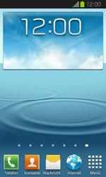 Samsung Galaxy Express - Startanleitung - Installieren von Widgets und Apps auf der Startseite - Schritt 7