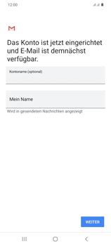 Samsung Galaxy S20 Plus 5G - E-Mail - Manuelle Konfiguration - Schritt 21
