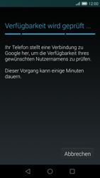 Huawei Ascend G7 - Apps - Konto anlegen und einrichten - Schritt 8