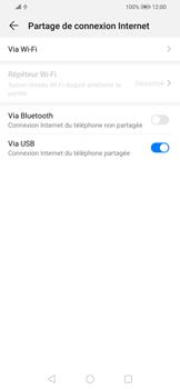 Huawei P Smart 2020 - Internet et connexion - Utiliser le mode modem par USB - Étape 8