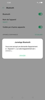 Oppo Find X2 - Bluetooth - Jumelage d