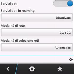BlackBerry Q10 - Internet e roaming dati - Disattivazione del roaming dati - Fase 8