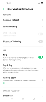 Oppo Find X2 Neo - WiFi - How to enable WiFi hotspot - Step 5