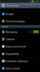 Samsung Galaxy S III - Software - Installieren von Software-Updates - Schritt 5