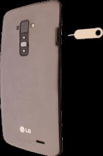 LG G Flex - SIM-Karte - Einlegen - 2 / 9