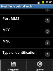 Samsung S5300 Galaxy Pocket - MMS - configuration manuelle - Étape 16