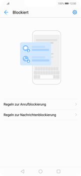 Huawei Mate 20 Lite - Anrufe - Anrufe blockieren - 5 / 12