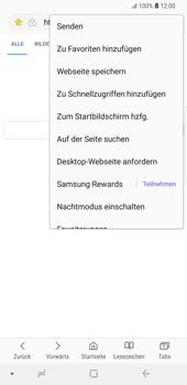 Samsung Galaxy S9 Plus - Internet und Datenroaming - Verwenden des Internets - Schritt 19