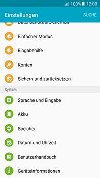 Samsung Galaxy A8 - Gerät - Zurücksetzen auf die Werkseinstellungen - Schritt 4