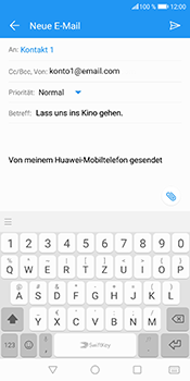 Huawei Honor 9 Lite - E-Mail - E-Mail versenden - 9 / 18