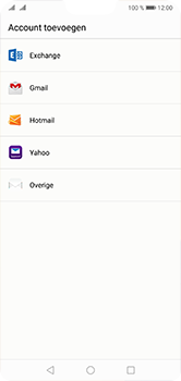 Huawei P20 Lite Dual-SIM (Model ANE-LX1) - E-mail - Account instellen (IMAP zonder SMTP-verificatie) - Stap 4