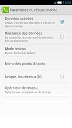 Alcatel One Touch Idol S - Réseau - Sélection manuelle du réseau - Étape 8
