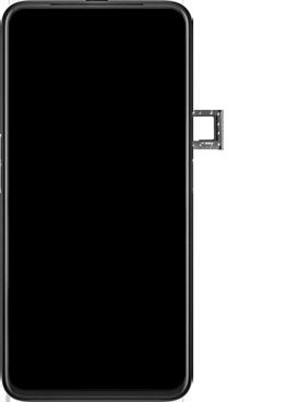 Oppo Reno 2Z - Premiers pas - Insérer la carte SIM - Étape 3